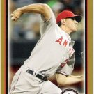 JERED WEAVER 2010 Bowman GOLD Parallel Card #47 Los Angeles Anaheim Angels FREE SHIPPING Baseball 47