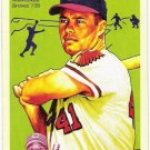 EDDIE MATHEWS 2008 Upper Deck Goudey Baseball Card #102 Milwaukee Atlanta Braves FREE SHIPPING