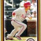 SHANE VICTORINO 2010 Bowman GOLD Parallel Card #117 Philadelphia Phillies FREE SHIPPING Baseball 117