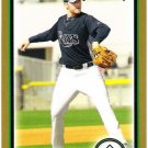 WADE DAVIS 2010 Bowman GOLD ROOKIE Card #203 Tampa Bay Rays FREE SHIPPING Baseball RC