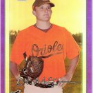 COLE MCCURRY 2010 Bowman CHROME Purple REFRACTOR Insert Rookie Card #BCP3 Baltimore Orioles 504/999