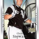 CHRIS STEWART 2007 Upper Deck ROOKIE Card #9 Chicago White Sox SASE Baseball UD RC 9
