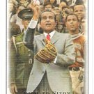 RICHARD NIXON 2007 Upper Deck Masterpieces Card #75 Senator President FREE SHIPPING Baseball