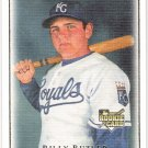 BILLY BUTLER 2007 Upper Deck Masterpieces Card #83 Kansas City Royals FREE SHIPPING Baseball