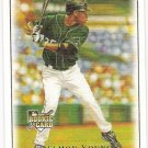 DELMON YOUNG 2007 Upper Deck Masterpieces Card #51 Tampa Bay Devil Rays FREE SHIPPING Baseball