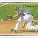 ALEX GORDON 2007 Upper Deck Masterpieces Card #65 Kansas City Royals FREE SHIPPING Baseball