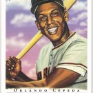 ORLANDO CEPEDA 2003 Topps Gallery HOF VARIATION Short Print Card #65 San Francisco Giants SASE SP 65