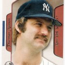 THURMAN MUNSON 2003 Flair Greats Baseball Card #88 New York Yankees FREE SHIPPING Baseball Fleer