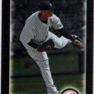 CC SABATHIA 2010 Bowman CHROME Card #158 New York Yankees FREE SHIPPING Baseball 158