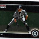 ICHIRO SUZUKI 2010 Bowman CHROME Card #129 Seattle Mariners FREE SHIPPING Baseball 129