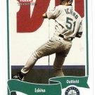 ICHIRO SUZUKI 2004 Fleer Tradition Card #77 Seattle Mariners FREE SHIPPING Baseball 77