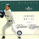 ICHIRO SUZUKI 2004 Fleer Classic Clippings Card #8 Seattle Mariners FREE SHIPPING Baseball 8