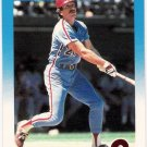MIKE SCHMIDT 1987 Fleer Card #187 Philadelphia Phillies FREE SHIPPING Baseball 187