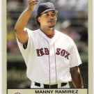 MANNY RAMIREZ 2005 Fleer Tradition Gray Back INSERT Parallel Card # 49 Boston Red Sox SASE Baseball