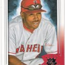 CHONE FIGGINS 2003 Donruss Diamond Kings SP ROOKIE Card #155 Anaheim Angels FREE SHIPPING Baseball