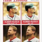 ALBERT PUJOLS & WOODY WILLIAMS 2004 Fleer Tradition Card #37 St Louis Cardinals FREE SHIPPING