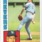 DON SUTTON 1984 Topps Card #35 Milwaukee Brewers FREE SHIPPING Baseball 35