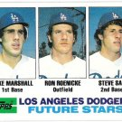 STEVE SAX 1982 Topps Future Stars ROOKIE Card #681 Los Angeles Dodgers FREE SHIPPING Baseball