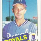 BRET SABERHAGEN 1985 Topps ROOKIE Card #23 Kansas City Royals FREE SHIPPING Baseball 23 RC