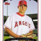 JOE SAUNDERS 2006 Topps ROOKIE Card #311 Anaheim Los Angeles Angels FREE SHIPPING Baseball 311 RC
