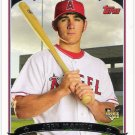 JEFF MATHIS 2006 Topps ROOKIE Card #299 Anaheim Los Angeles Angels FREE SHIPPING Baseball 299 RC