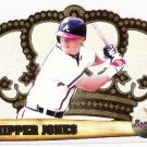 CHIPPER JONES 1998 Pacific Crown Royale Card #13 Atlanta Braves FREE SHIPPING Baseball 13