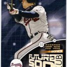 CHIPPER JONES 2002 Leaf Future 500 Club INSERT Card #FF4 Atlanta Braves FREE SHIPPING Baseball FF4