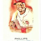 BRANDON PHILLIPS 2010 Topps Allen & Ginter SHORT PRINT Card #306 Cincinnati Reds FREE SHIPPING SP