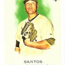 SERGIO SANTOS 2010 Topps Allen & Ginter ROOKIE Card #195 Chicago White Sox FREE SHIPPING 195