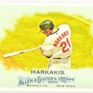 NICK MARKAKIS 2010 Topps Allen & Ginter Card #274 Baltimore Orioles FREE SHIPPING Baseball 274