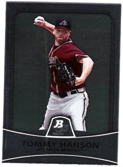 TOMMY HANSON 2010 Bowman Platinum Card #75 Atlanta Braves FREE SHIPPING Baseball 75