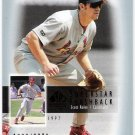 SCOTT ROLEN 2003 SP Authentic Superstar Flashback INSERT Card #SF54 #d /2003 St Louis Cardinals