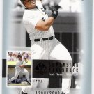 FRANK THOMAS 2003 SP Authentic Superstar Flashback INSERT Card #SF15 #d /2003 Chicago White Sox SASE