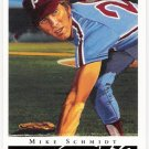 MIKE SCHMIDT 2003 Topps Gallery HOF Card #50 Philadelphia Phillies SASE Baseball 50