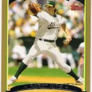 BARRY ZITO 2006 Topps GOLD Parallel Card #178 Oakland A's #'d 1305/2006 FREE SHIPPING Baseball 178