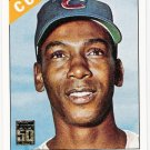 ERNIE BANKS 2001 Topps Through The Years INSERT Card #13 Chicago Cubs FREE SHIPPING Baseball 13