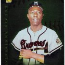 HANK AARON 2001 Topps Golden Anniversary Greats INSERT Card #GA1 Atlanta Braves FREE SHIPPING