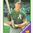 MARK MCGWIRE 1988 Topps Card #580 Oakland A's FREE SHIPPING Baseball 580