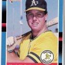 MARK MCGWIRE 1988 Donruss Card #256 Oakland A's SASE Baseball 256
