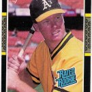 MARK MCGWIRE 1987 Donruss ROOKIE Card #46 Oakland A's FREE SHIPPING Baseball RC 46