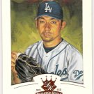 HIDEO NOMO 2002 Donruss Diamond Kings Bronze Border INSERT Card #72 Los Angeles Dodgers