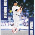 ROGER CLEMENS 2002 Donruss Originals Making History INSERT Card #MH2 #'d 64/800 New York Yankees