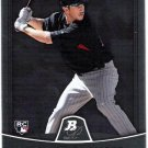 TREVOR PLOUFFE 2010 Bowman Platinum ROOKIE Card #77 Minnesota Twins SASE Baseball RC 77
