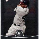 CARLOS SANTANA 2010 Bowman Platinum ROOKIE Card #23 Cleveland Indians FREE SHIPPING