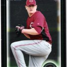 JORDAN SMITH 2010 Bowman Draft Picks & Prospects CHROME ROOKIE Card #BDP68 Cincinnati Reds