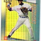 ORLANDO HUDSON 2002 Donruss Best Of Fan Club SP ROOKIE Card #241 Toronto Blue Jays #'d 686/1350