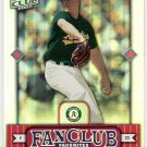 MARK MULDER 2002 Donruss Best Of Fan Club Favorites SP Card #288 Oakland A's #'d 758/2025