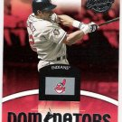 JUAN GONZALEZ 2001 Donruss Class of 2001 Dominators INSERT Card #DM-3 Cleveland Indians
