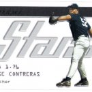 JOSE CONTRERAS 2003 Donruss Studio Stars INSERT Card #SS-10 New York Yankees FREE SHIPPING SS-10