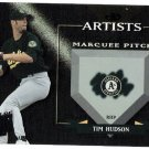 TIM HUDSON 2002 Donruss Best Of Fan Club Artists INSERT Card #A-4 Oakland A's #'d 133/300